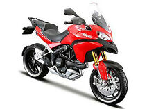 2011 Ducati Multistrada 1200S Red, Maisto Motorcycle Model 1:18