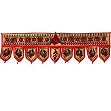 DOOR HANGING VINTAGE DOOR DECOR INDIAN WINDOW VALANCE HOME DECOR TORAN TAPESTRY