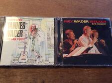 Hannes Wader [4 CD] Mey Wecker DAS KONZERT + Heute hier und Morgen Dort
