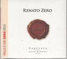 RENATO ZERO AMO CAPITOLO I DIGIPACK CD SIGILLATO !!!