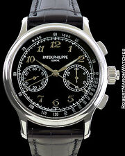 PATEK PHILIPPE 5370P PLATINUM SPLIT SECONDS CHRONOGRAPH ENAMEL BREGUET DIAL NEW