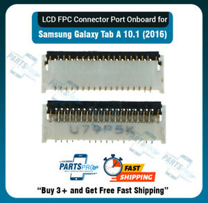 LCD FPC Connector Port Onboard for Samsung Tab A T580/T585/P580 10.1 (2016)