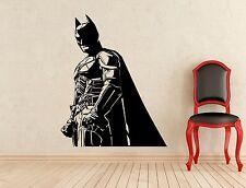 Batman Wall Decal Dark Knight Superheroes Vinyl Sticker Kids Art Decor Mural 55z