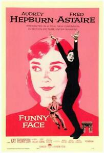 Funny Face Movie POSTER 11 x 17 Fred Astaire, Audrey Hepburn, A