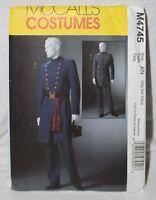 McCall's Costumes Sewing Pattern Civil War Uniform Size XN M4745 Uncut