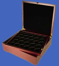 Display Box for 4 Trays Slab / Capsule / Challenge / Tetra Mahogany Matte Finish