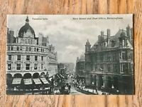 Birmingham New Street & Post Office Real Photo Vintage Postcard RP