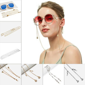 Eyeglass Glasses Strap Sunglasses Chain Beaded Cord Holder Neck Lanyard Fashion