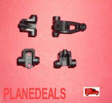 CNC Aluminium BLACK Front&Rear Lower Link Shock Mounts For Traxxas Trx-4 A14