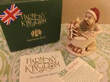 "Collectible Harmony Kingdom "" Holy Water"" Hand Made In England w/ Box Christmas"