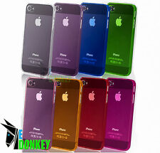 CUSTODIA CASE COVER FOR APPLE IPHONE 5 SLIM CRYSTAL CLEAR TPU PROTECTOR