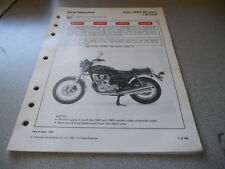 1980-1982 CB750K Four Set Up Instruction Manual 46 PGS