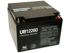 UPG 12V 26Ah Wheelchair Scooter Battery Replaces 28ah BB Battery BP28-12
