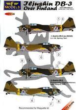 LF Models Decals 1/72 ILYUSHIN DB-3 Bomber Over Finland