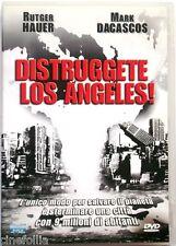 Dvd Distruggete Los Angeles! con Rutger Hauer 2002 Usato