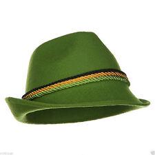 Adult Green Alpine Swiss Lederhosen Austrian Bavarian Oktoberfest German Hat