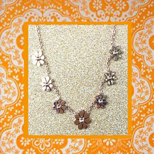 """CC20030 -  """"rose gold"""" pendant with seven flowers stainless steel pedent"""