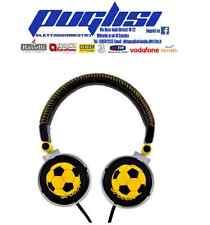 Cuffia Stereo regolatore di volume Audiola Calcio soccer Pallone HI-FI SUONO