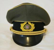 More details for ww2 german army generals officers service visor hat schirmuttzen reproduction