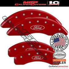 Mgp Caliper Brake Cover Red 10023sfrdrd Front Rear For Ford Expedition 2008 2009