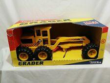 Tonka Toy Road Grader # 2510 Yellow NIB Rare sticker combination