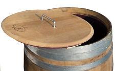 Deckel für Holzfasß, Faß, Regentonne, Regenfaß, Wasserfaß, Weinfaß 225 Liter