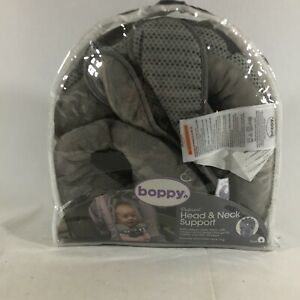 Boppy Gray Preferred Head & Neck Support Includes Removable Neck Ring Dinosaur