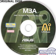 ASUS GENUINE VINTAGE ORIGINAL DISK FOR M3A Motherboard Drivers Disk  M1233