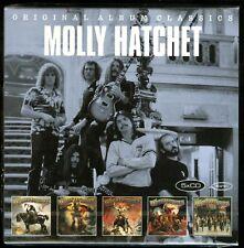Molly Hatchet Original Album Classics 5 CD Flirtin with Disaster Beatin The Odds