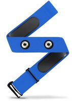 Heart Rate Monitor Soft Strap Replacement | Universal Replacement (Blue, M-XXL)