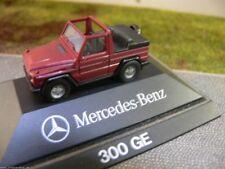 1/87 Herpa MB 300 GE rotmetallic Cabrio