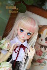 1 3 8-9 Bjd Wig Dal Pullip BJD SD LUTS MSD DOD DOC DD Dollfie Doll Pink wigs