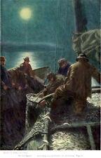 MAINE COAST Lobsterman's Island LOBSTER SMACK Sidney M Chase 1909 ILLUSTRATIONS