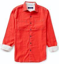 NWT $118 Tommy Bahama Sea Glass Flannel Men's Shirt Fireworks NEW XL