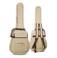 "New Waterproof Folk Acoustic Guitar Gig Bag Case Strap Padded for 40/41"" USA"