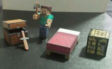 Minecraft Overworld Core Survival Pack with Steve Action Figure & more Jazwares