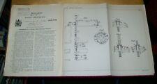 IMPROVEMENTS IN MINE SIGNALLING APPARATUS PATENT CHADBURN'S SHIP TELEGRAPH 1921