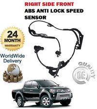 Pour Mitsubishi L200 Pickup Garantie 2.5 2006> avant Droit ABS Anti Lock Frein