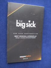 THE BIG SICK - OSCAR Nominated Screenplay - 1st Appearance in Book Form