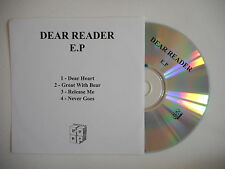 DEAR READER E.P - GREAT WITH BEAR [ CD SINGLE ] ~ PORT GRATUIT !