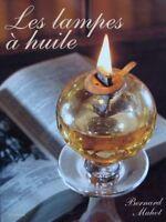 LIVRE : LAMPE à HUILE/OIL LAMPS/OLIE LAMP > GLAS/VERRE,KOPER/CUIVRE