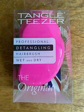 Tangle Teezer The Original Pink & yellow professional detangling hairbrush brush