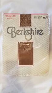 Vintage Berkshire Thigh-Hi No Bind Top Size C-D Midriff Beige