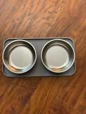 Top Paw Feed/ Water System Silicone Mold For 2 Included Stainless  Steel Bowls