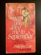 Will You Love Me In September Paperback Romance Novel Suspense Passion Drama