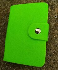 Mini Solid Candy Color ID Card Case Business Card Holder Storage Case Green HOT