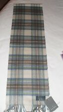 Man / Woman 100 %  Cashmere Scarf by  MARCHBRAE,  Scotland New with Tags!
