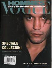 Vogue Hommes International Mode Spring/Summer 1997 Vincent Perez 102219AME