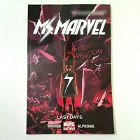 MS MARVEL Vol 4: Last Days (TPB, 2015) Kamala Khan, Captain Marvel FREE SHIPPING