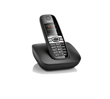 Siemens gigaset c610/C 610 analógico inalámbrico teléfono con piano negro c610h
